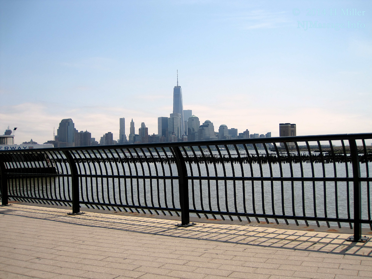 Hoboken NJ View of NYC